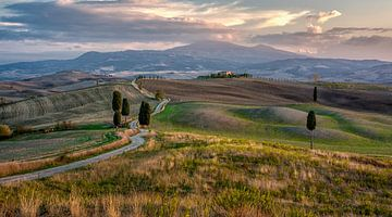 La route des Gladiateurs, Toscane sur Teun Ruijters