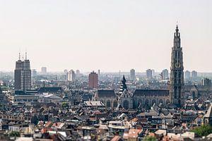 Antwerpen stadsgezicht van