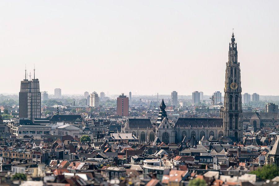 Antwerpen stadsgezicht