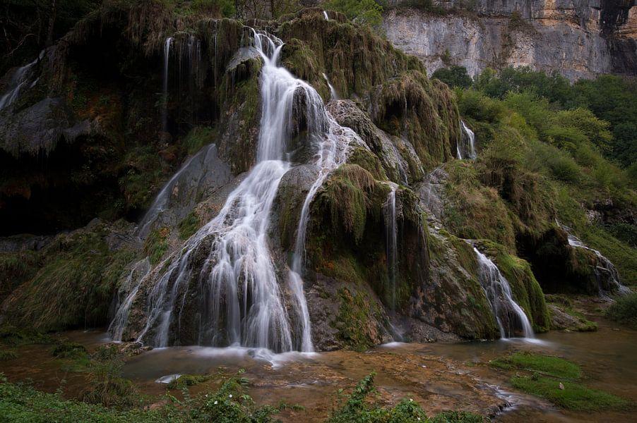 De waterval van Baume-les-Messieurs