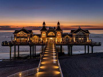 Seebrücke auf der Insel Rügen von Achim Thomae
