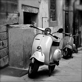 Vespa in Arezzo van Reinier van de Pol