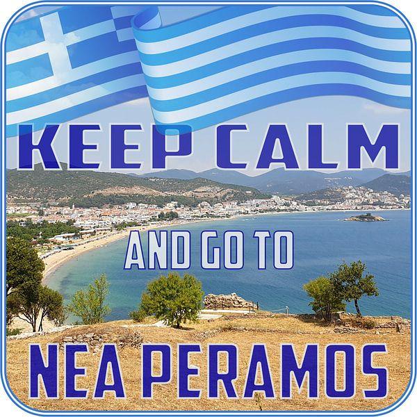 Keep CALM and go to Nea Peramos - Kavala - Greece von ADLER & Co / Caj Kessler