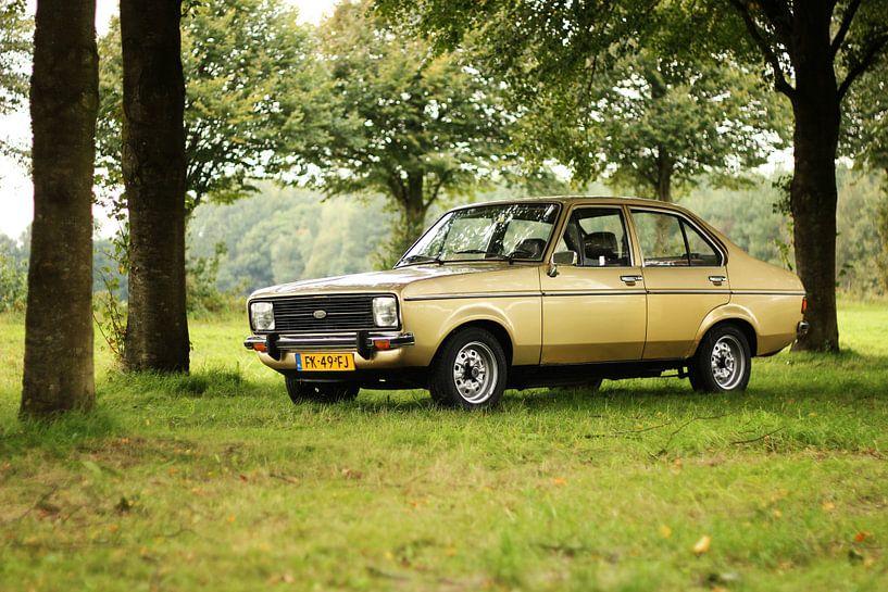 Ford Escort MK2. Klassieker / oldtimer / youngtimer van Maarten van Hemel