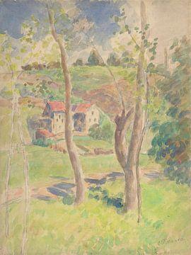Camille Pissarro-Landschap