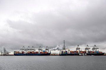 Le port de Rotterdam sur Jeroen van Eijndhoven
