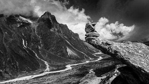 Bergen Nepal Himalaya  van Björn Jeurgens