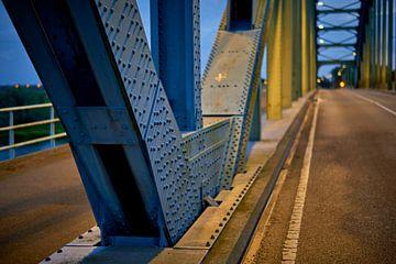 Detail der Zwolse IJsselbrug von Jenco van Zalk