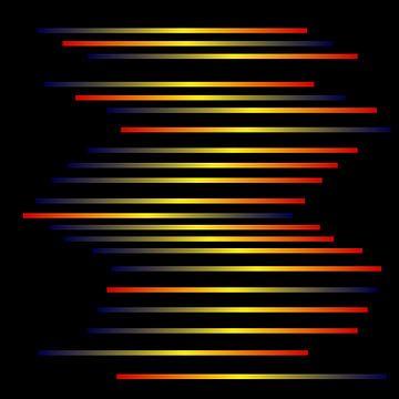 Spektren auf Schwarz von Berthold Werner