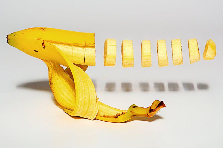 Floating banana