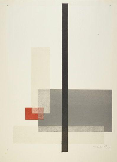 Bauhaus, Samenstelling uit de masterportfolio van het Staatliches Bauhaus - László Moholy-Nagy, 1923
