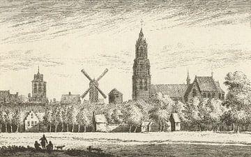 Blick auf Delft, Abraham Rademaker