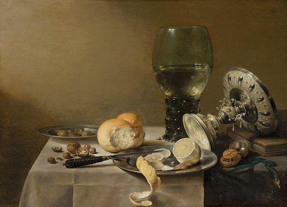 Stilleven met tazza, Pieter Claesz