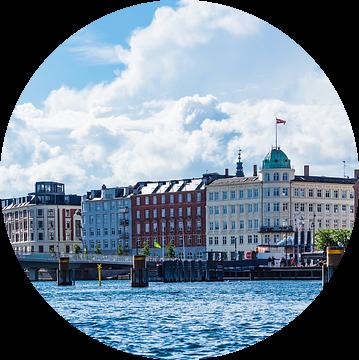 Buildings in the city Copenhagen, Denmark van Rico Ködder