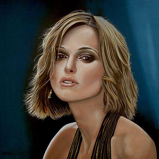 Keira Knightley schilderij
