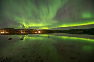 Northernlights over Namsskogan Norway