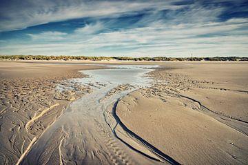 Stroomgeultje op het strand von Remco de Vries
