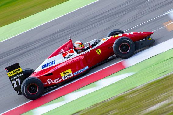 Historische Ferrari formule-1 auto van Joey M