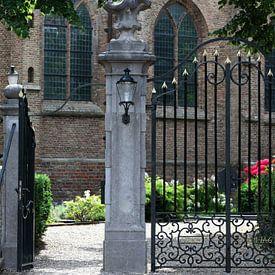 Kerk in Rotterdam - Hillegersberg door Etienne Oldeman Photography van Etienne Oldeman