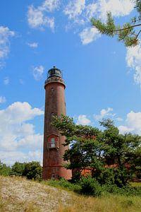 Der Leuchtturm von Prerow van
