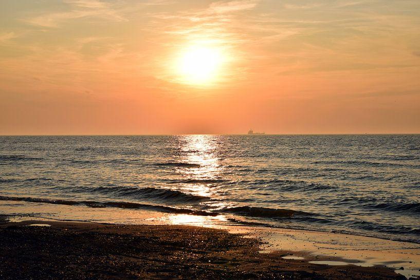 Sonnenuntergang zur Kunst von Aafke's fotografie