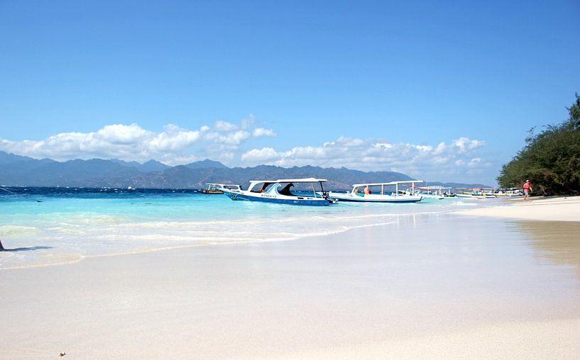 Strand Indonesien van Florian Franke
