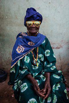 Sonnige Sonnenbrille. von Ellis Peeters