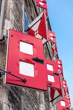 Volets de l'ancien hôtel de ville de Gouda sur Remco-Daniël Gielen Photography