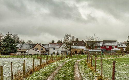 Molsberg Simpelveld in de sneeuw