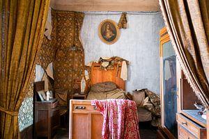 Chambre antique abandonnée. sur Roman Robroek