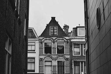 Utrecht in Schwarz und Weiß von Sync-In Steph