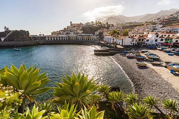 Câmara de Lobos op het eiland Madeira van Werner Dieterich