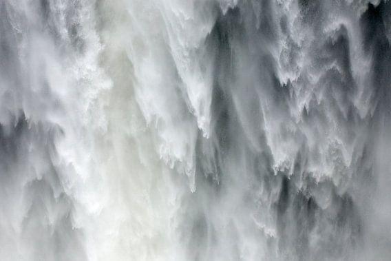 Zambia / Livingstone / Close-up van de Victoria watervallen bij Livingstone / 2011