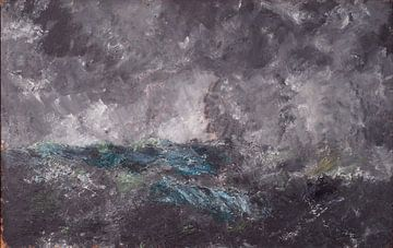 August Strindberg~Sturm in den Skerries Der fliegende Holländer