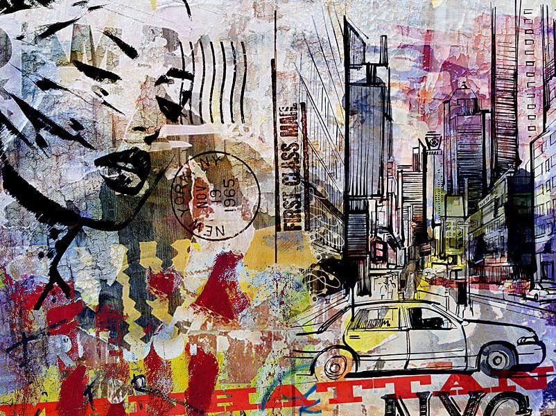 Manhattan NYC van PictureWork - Digital artist