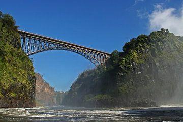 Vic Falls Bridge Botsuana Zambia van Manuel Schulz