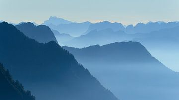 Ticino sunrise van Sander van der Werf