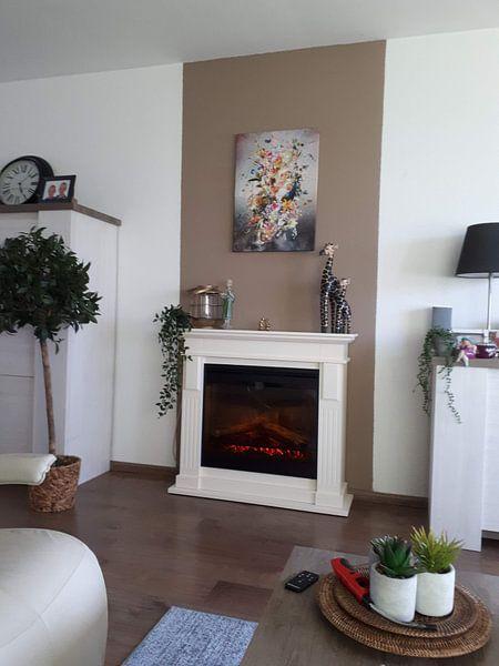 Klantfoto: The Beacon (gezien bij vtwonen) van Jesper Krijgsman, op canvas