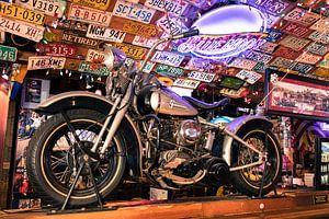 Motor, Harley Davidson Liberator van