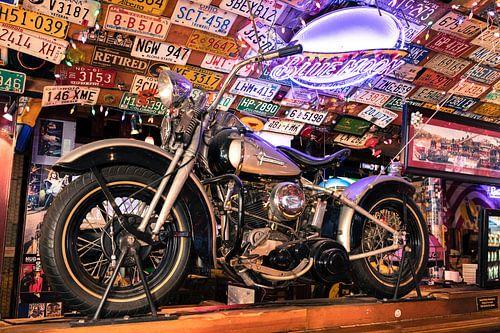 Motor, Harley Davidson Liberator van Inge van den Brande