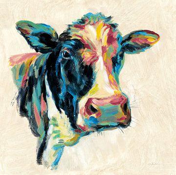 Expressionistische Cow I v2, Silvia Vassileva von Wild Apple