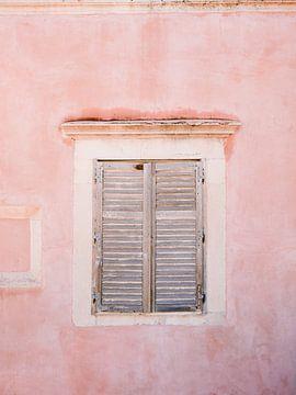 Pink in Dubrovnik | Pastellfarbene Fernweh-Reisefotografie Reisefotografie Posterwandkunst Kroatien von Raisa Zwart