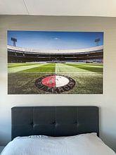 Kundenfoto: De Kuip - Feyenoord - Rotterdam von Sasha Ivantic, auf nahtloser fototapete