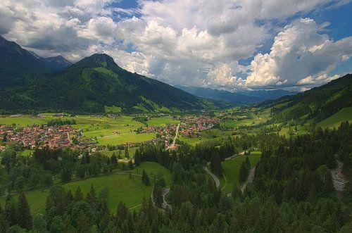 Germany Mountains - Oberallgäu van