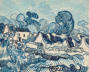 Vincent van Gogh. Landschaft mit Häusern