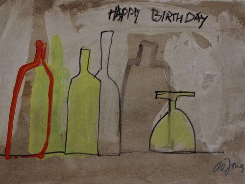 Happy Birthday van Leo de Jong