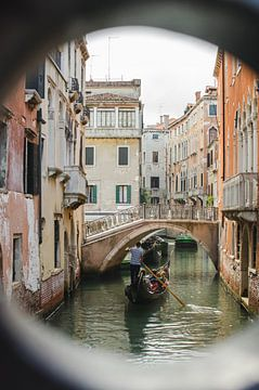 Venezianische Gondeln von Vera van den Bemt