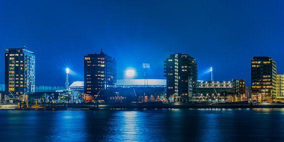 - Werk aan de Muur Canvas 40x20. 'Feyenoord Stadion