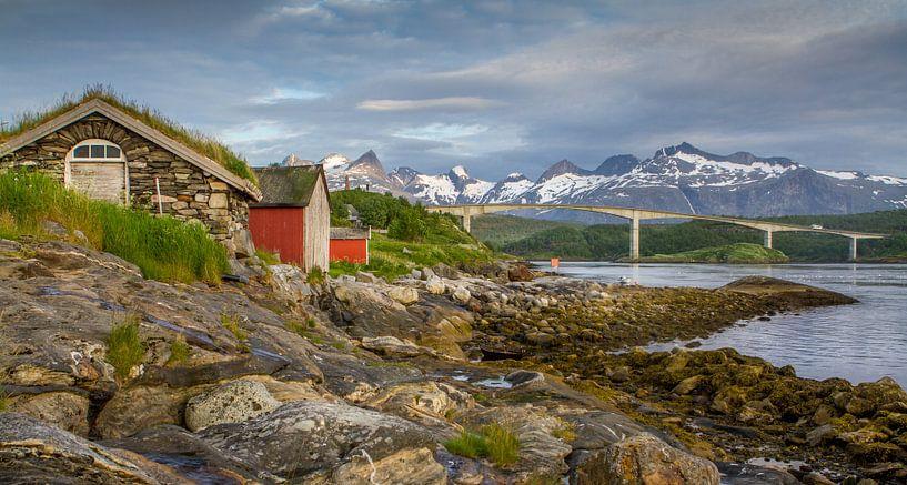Saltstraumen Noorwegen van Hamperium Photography