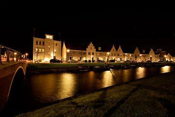 Wasserfront am Abend, Harderwijk von On The Road Foto